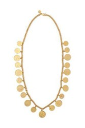 Ben Amun Woman 24 Karat Gold Plated Necklace Gold