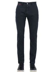 Unlimited 17Cm Stretch Cotton Twill Chino Pants Navy