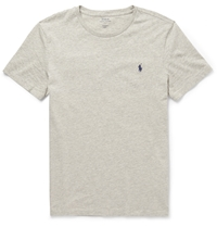 Polo Ralph Lauren Cotton Jersey T Shirt Gray
