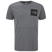 The North Face Men's Fine T Shirt Medium Grey Heather