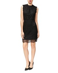 Betsey Johnson Lace Sheath Dress Black