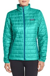 Women's Patagonia 'Nano Puff' Jacket Howling Turquoise
