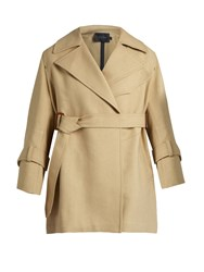 Calvin Klein Kenneth Belted Trench Coat Beige