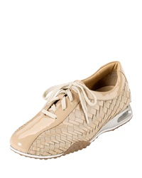 Cole Haan Air Bria Geni Woven Oxford Patent Leather