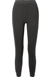 Atm Anthony Thomas Melillo French Cotton Blend Terry Track Pants Black
