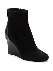 Jil Sander Almond Toe Leather Ankle Boots Black