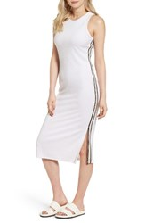 Juicy Couture Women's Microterry Tank Midi Dress White