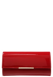 Buffalo Clutch Red Dark Red