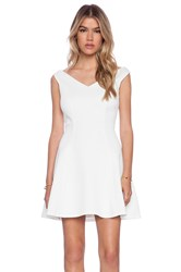 Bardot Garden Party Dress Ivory