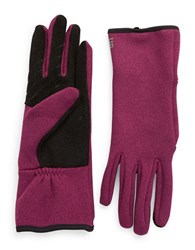 Ur Powered Fleece Lined Tech Gloves Pink