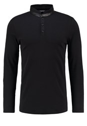 Karl Lagerfeld Polo Polo Shirt Black