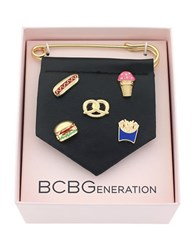 Bcbgeneration For Pins Sake Safety Pin Bracelet Charm Gold