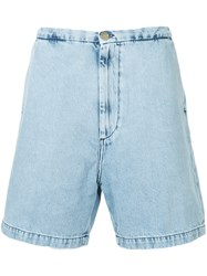 Covert Basic Denim Shorts Blue