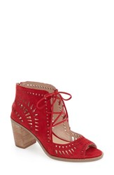 Vince Camuto Women's 'Tarita' Cutout Lace Up Sandal Love Affair