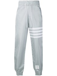 Thom Browne 4 Bar Relaxed Fit Track Pants Grey