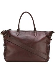 Zanellato Leather Holdall Brown