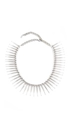 Luv Aj The Spike Flare Necklace Silver Ox