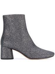 Marc Jacobs Camilla Glitter Boots Women Cotton Leather Other Fibres 35 Grey