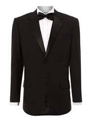 Howick Powell Tuxedo Jacket With Satin Collar Black