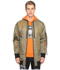 Haculla Luxe Punk Coat Army Green