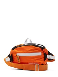 Heron Preston Logo Embellished Nylon Belt Bag Orange