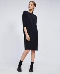 Aspesi Cady Long Sleeve Dress Black