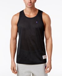 Champion Men's Mesh Tank Top Black
