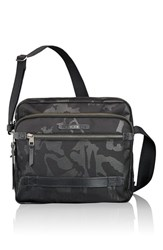 Men's Tumi 'Dalston Clifton' Crossbody Bag Black Black Camo