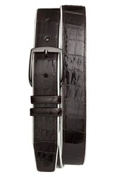 Men's Mezlan 'Saratoga' Genuine Crocodile Leather Belt