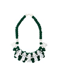 Ek Thongprasert Stone Embellished Necklace Green