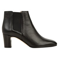 Hobbs Petra Chelsea Boots Black Leather