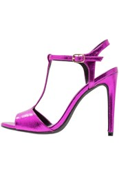 New Look Shalot High Heeled Sandals Bright Pink