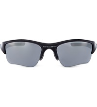 Oakley Irregular Sunglasses Jet Black