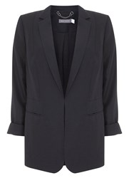 Mint Velvet Black Easy Boyfriend Blazer Black