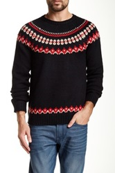 Native Youth Fair Isle Crew Neck Sweater Multi