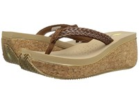 Volatile Fay Brown Women's Wedge Shoes