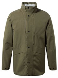 Craghoppers Men's Axel Waterproof Jacket Bottle Green