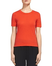 Whistles Rosa Tee Red