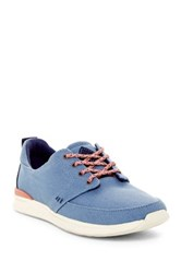 Reef Rover Low Lace Up Sneaker Women Blue
