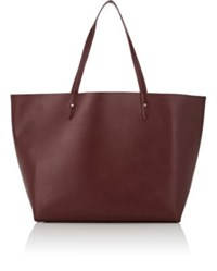 Barneys New York Women's Large Tote Bag Red