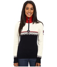 Dale Of Norway Lahti Sweater Navy Raspberry Women's Sweater
