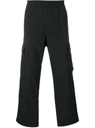 Msgm Cargo Pocket Trousers 99 Black