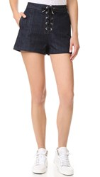 Rag And Bone Lace Up Shorts Resin