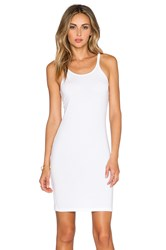 Alexander Wang Cami Tank Dress White
