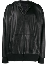 Alchemy Hooded Zip Up Jacket Black