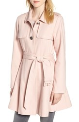 Kate Spade New York Skirted Trench Coat Cameo Pink