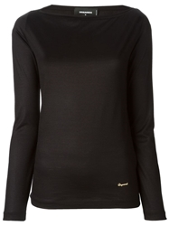 Dsquared2 Slim Fit Sweater Black