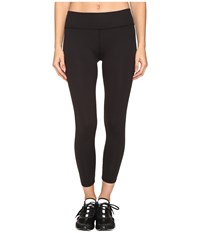 Kate Spade New York X Beyond Yoga Cinched Bow Capri Leggings Black Women's Casual Pants