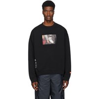 Heron Preston Black Photo Sweatshirt