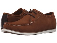 Hush Puppies Briggs Portland Rust Suede Men's Lace Up Casual Shoes Red